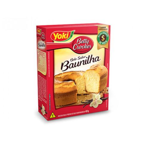 MISTURA PARA BOLO DE BAUNILHA YOKI 425g