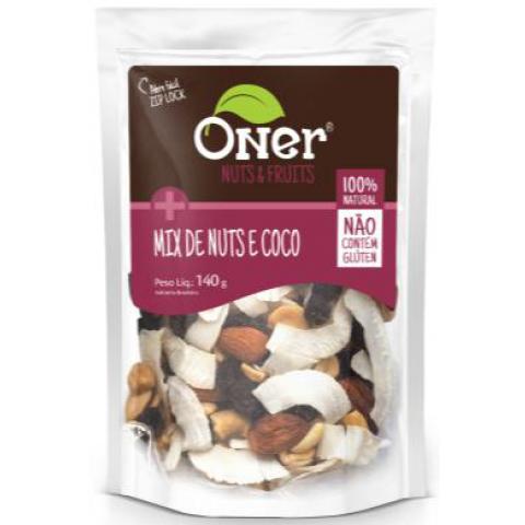 MIX DE NUTS E COCO ONER 140g