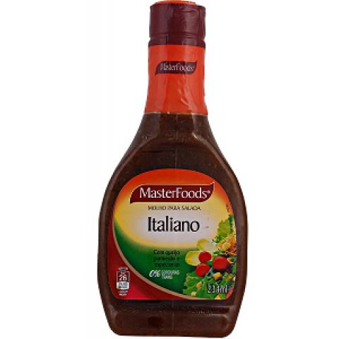 MOLHO PARA SALADA MASTERFOODS ITALIANO 234ml