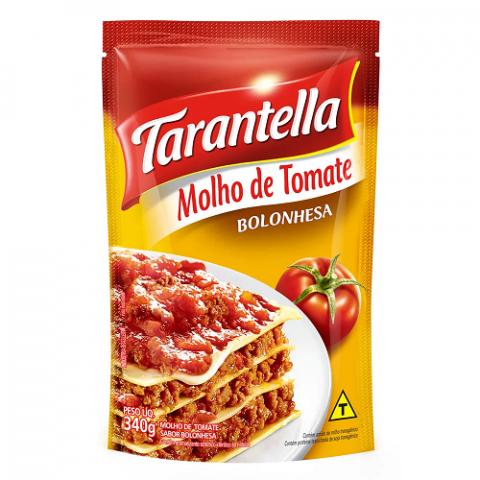 MOLHO DE TOMATE TARANTELLA BOLONHESA 340g