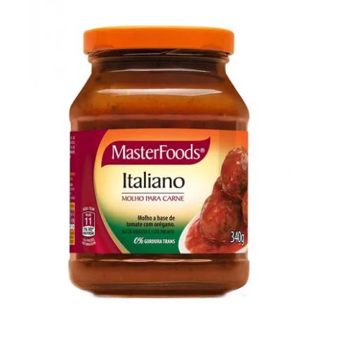 MOLHO ITALIANO MASTERFOODS 340g