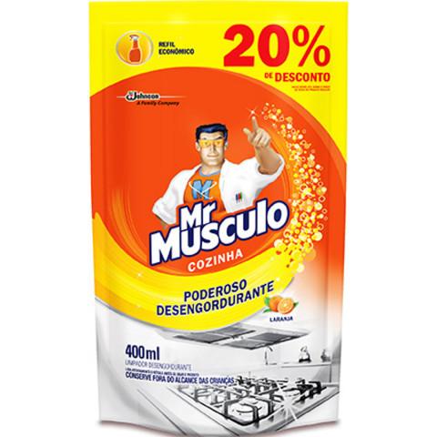 MR MUSCULO COZINHA DESENGORDURANTE LARANJA 500ml