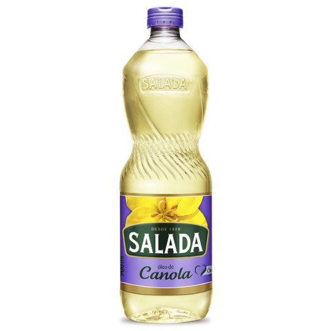 OLEO DE CANOLA SALADA PET 900ml