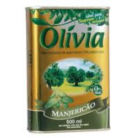 OLEO COMPOSTO OLIVIA MANJERICAO 500ml