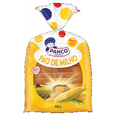 PAO DE FORMA MILHO PANCO 500g