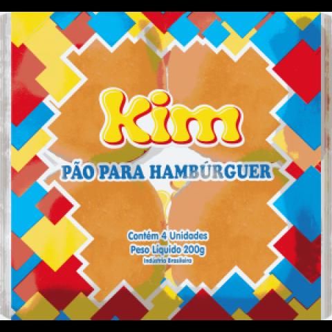 PAO DE HAMBURGUER KIM 200g