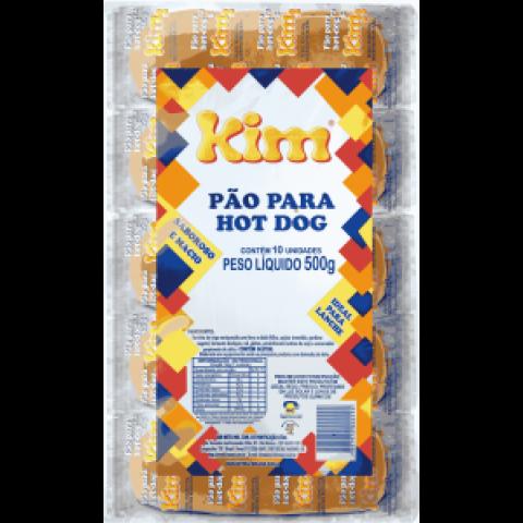 PAO DE HOTDOG KIM 10 Unidades