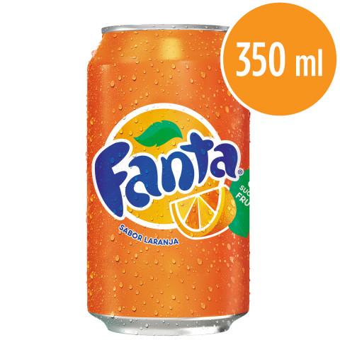 Refrigerante FANTA Laranja Lata 350ml