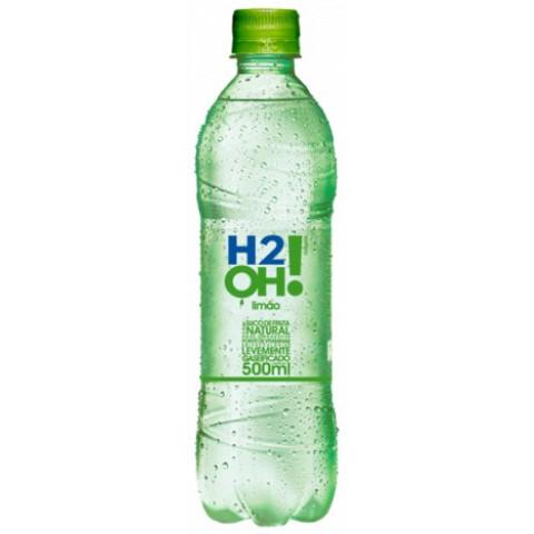 REFRIGERANTE H2OH LIMAO GARRAFA 500ml