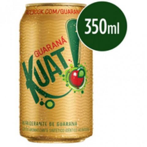 Refrigerante KUAT Guaraná Lata 350ml