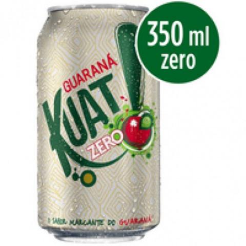 Refrigerante KUAT Guaraná Zero Lata 350ml