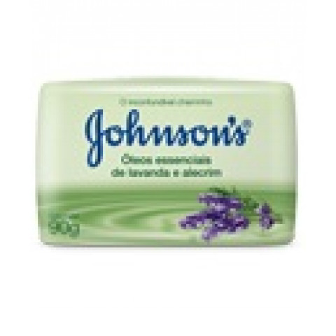 SABONETE JOHNSONS LAVANDA E ALECRIM  90g