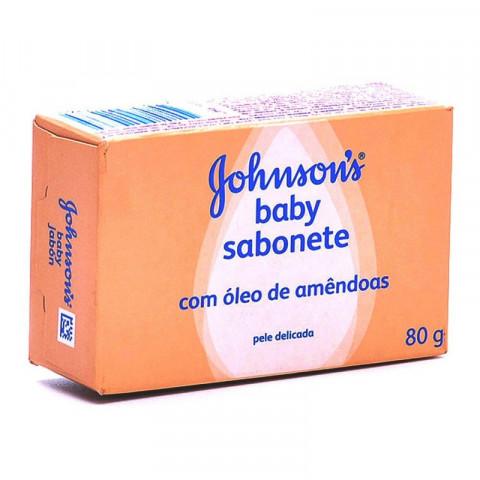 SABONETE JOHNSONS ÓLEO DE AMÊNDOAS 90g