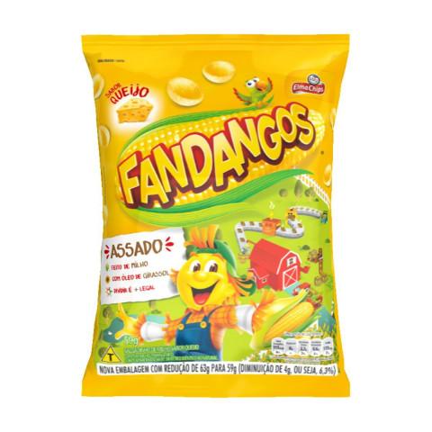 Salgadinho de Milho Elma Chips Fandangos Queijo 59g