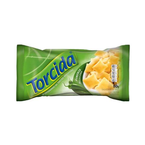 Salgadinho de Trigo Torcida Pimenta Mexicana 80g