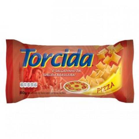 Salgadinho de Trigo Torcida Pizza 80g