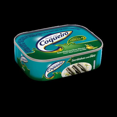 SARDINHA COM OLEO COQUEIRO LATA 250g
