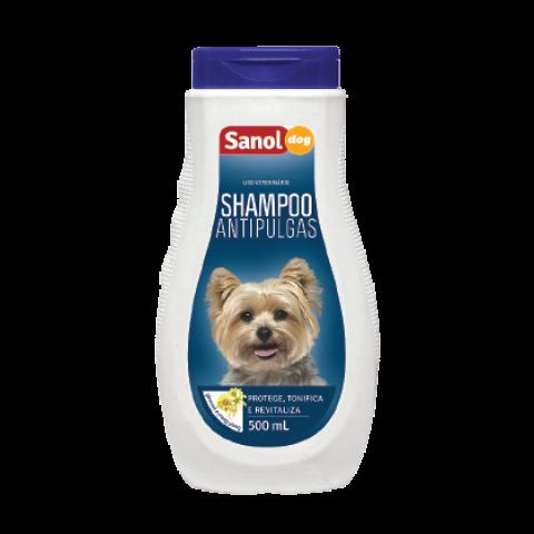 SHAMPOO ANTIPULGAS SANOL DOG 500ml