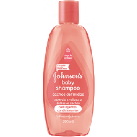 SHAMPOO JOHNSON'S BABY CACHOS DEFINIDOS 400ml