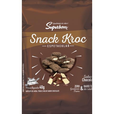 SNACK KROC CHOCOLATE SUPERBOM 40g