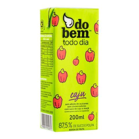 Suco DO BEM Todo Dia Caju 200ml