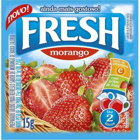 Suco em Pó FRESH Morango 10g