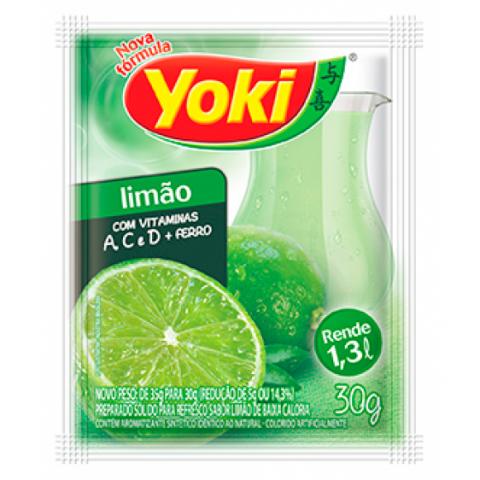 Suco em Pó YOKI Limão 30g
