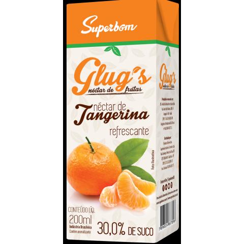 SUCO GLUGS TANGERINA SUPERBOM NATURAL 200ml