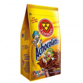 ACHOCOLATADO EM PO 3 CORACOES CHOCOLATTO 300g