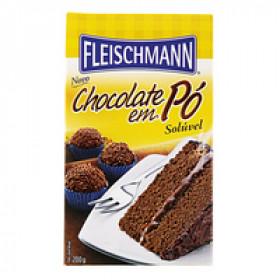 CHOCOLATE EM PO FLEISCHMANN 200g