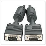 CABO MONITOR RGB HD15M X HD15M C/ FERRITE 15 METROS - HL-VGA3+8C-15M