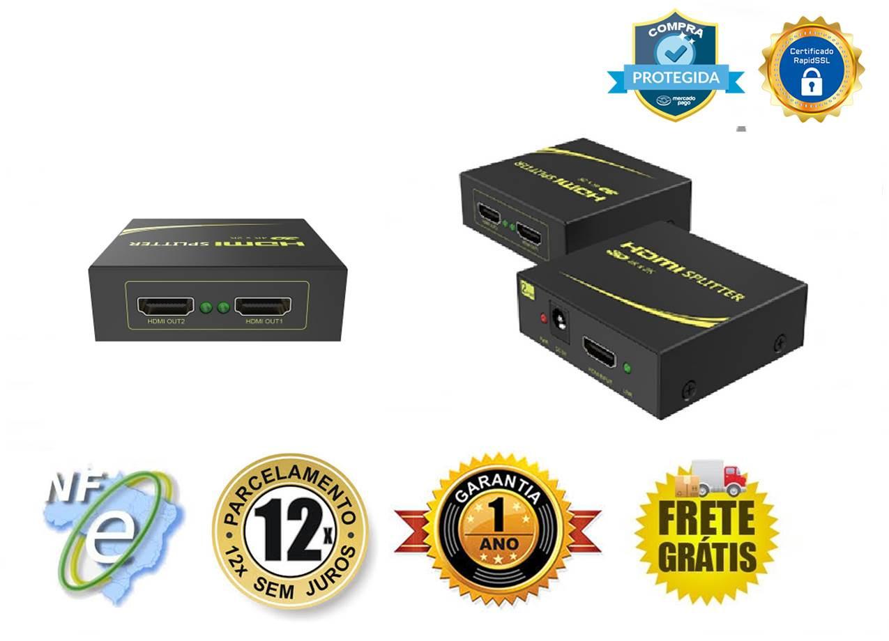 DISTRIBUIDOR DE VIDEO HDMI FHD V1.4 4K 30Hz 1-IN X 2-OUT SP-HM112