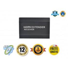 EXTENDER RECEPTOR DE VIDEO HDMI ATÉ 120M VIA CAT5/6 EX-HM112RX