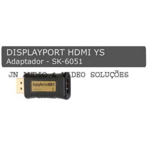 ADAPTADOR DISPLAYPORT PARA HDMI - SK-6051