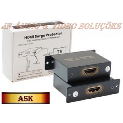 PROTETOR DE DISPOSITIVOS HDMI  SUPORTA UHD 4K-2K  ASK-HDEX001M1