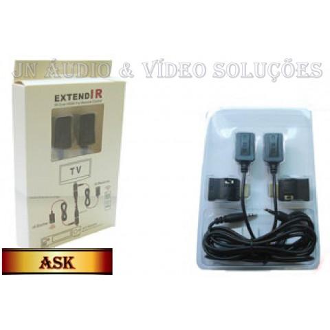 EXTENSOR IR VIA CABO HDMI P/ CONTROLE REMOTO - ASK-HDEX003M1