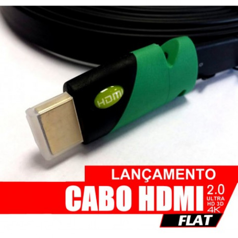 CABO HDMI 2.0 Ultra HD FLAT 2.0MTS 3D 4K - W207.802