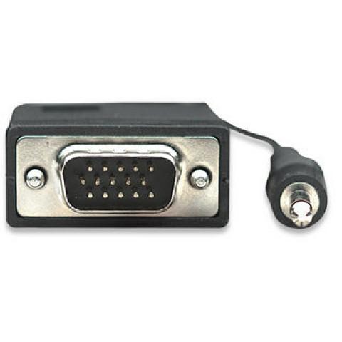 CABO VGA+AUDIO (P2) HD15M X HD15M 1,80 MTS - SK324267