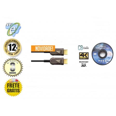 CABO HDMI 2.0 4K OPTICO B. JACKET OD:4,5MM 15MTS ALL SYNC EL-SHDC-8700-15M