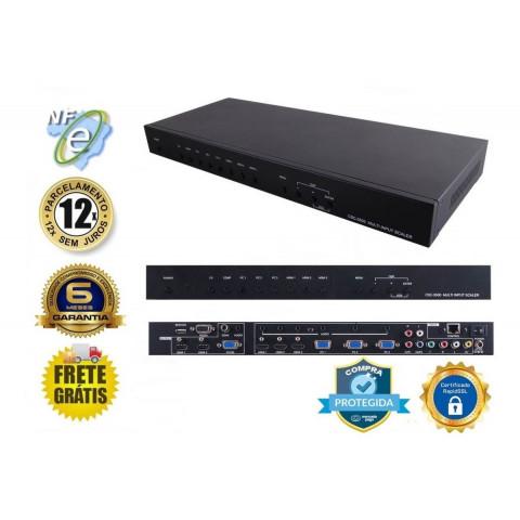 CONVERSOR  SCALER HDMI / VGA / VÍDEO COMPONENTE / CV / SV PARA HDMI / VGA  CSC-5500