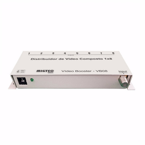 DISTRIBUIDOR DE VIDEO RF 1-IN X 8-OUT - VB08F