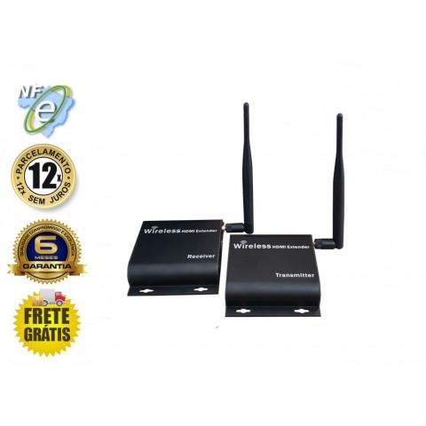 EXTENDER DE VIDEO WIRELESS HDMI FHD 1080P ATÉ 50M SEM FIO  EHS50 (KIT COM TRANSMISSOR E RECEPTOR)