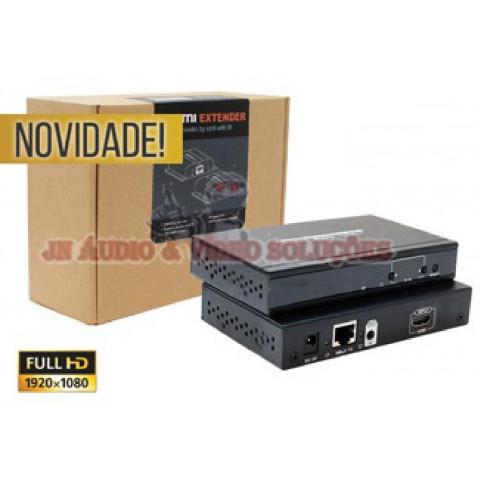 EXTENDER TRANSMISSOR HDMI HDBIT MATRIX VIA CAT5/6 ATÉ 120MTS LEN-LKV383MATRIX (TX)