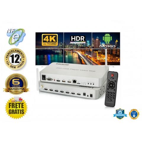 CONTROLADOR VIDEO WALL USB, HDMI 2 X 1,2 X 2,2 X 3,1 X 2 4k 30Hz  HDVW2X3-M