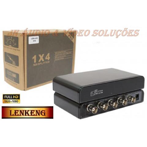 DISTRIBUIDOR DE VIDEO 3G / HD / SD-SDI 1-IN X 4-OUT - LEN-LKV614
