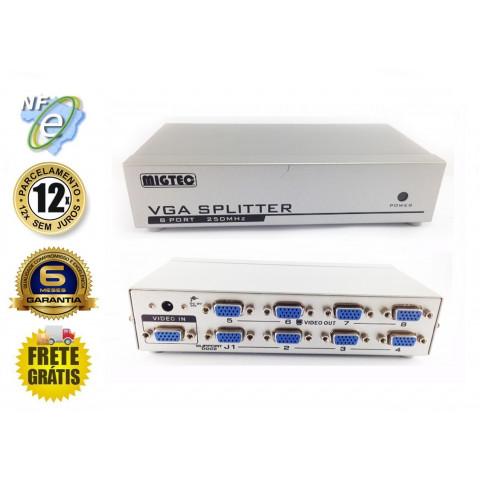DISTRIBUIDOR DE VIDEO VGA / SVGA 1-IN X 4-OUT 250Hz  SWH-MT2508 / EL2508