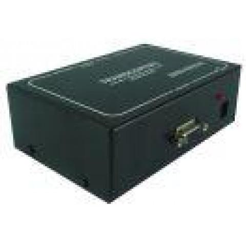 RECEPTOR EXTENDER DE VIDEO VGA/WXGA C/ ÁUDIO P2 1 X 1 VIA CAT5/6FTP - RVGA301T/A