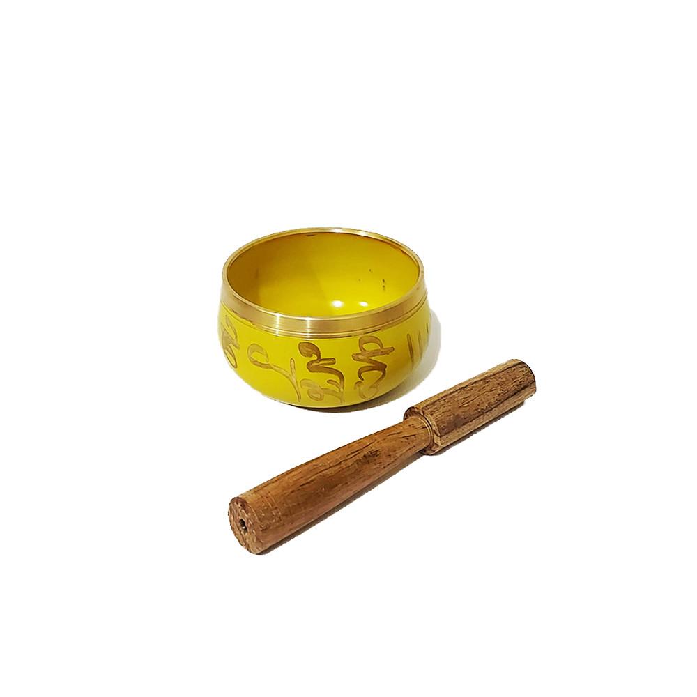 MH0908-03 - Sino Tibetano Orin 7 Metais - (P) Amarelo