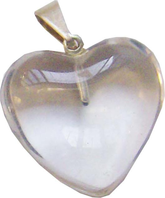 CA1057-01 - Pingente Coração Cristal (10 a 20mm)
