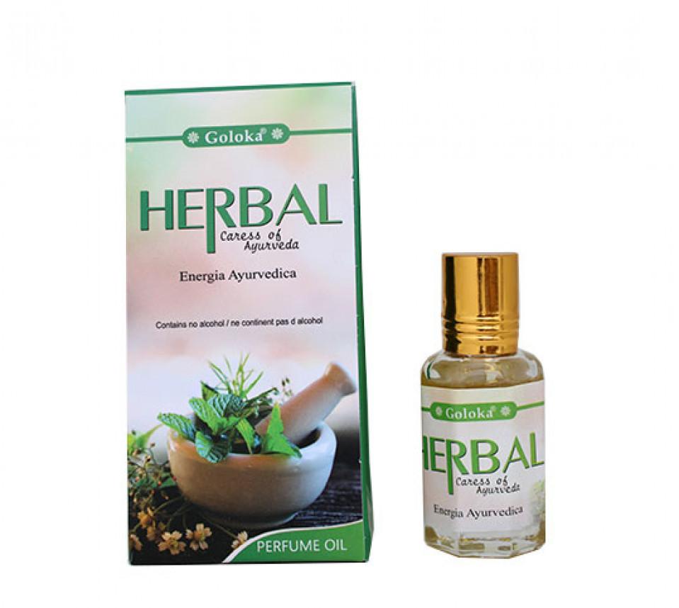 3212-24 - Óleo Perfumado Goloka Herbal 10ml